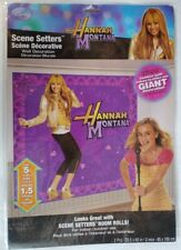 Hannah Montana Rock the Stage Backdrop Wall Scene Setter Free Shipping