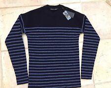 Ralph Lauren Black Label Jumper Sweater Wool Cashmere Blue size S NEW