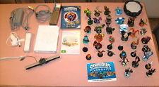 Nintendo Wii Console + Skylander Spyro's Adventure + 40 Figures/Magic - Near New