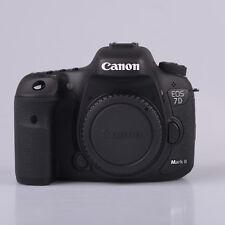 Brand New Canon EOS 7D Mark II Body Only Digital SLR Cameras [kit box] Black