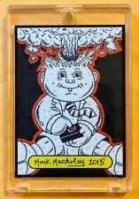 GPK SKETCH CARD: ADAM Bomb / Blasted BILLY GARBAGE PAIL KIDS (1/1) MARK MACAULAY