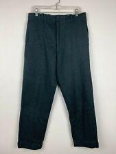 Vintage Northway Woolen Wool Water Resistant Hunter Pants Green 33x29