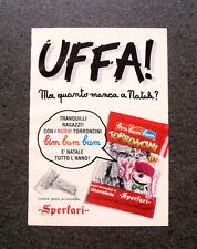 I221-Advertising Pubblicità-1990- TORRONCINI SPERLARI