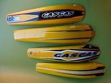 Garde boue arrière Gasgas trial 2006/ jaune BT120620007