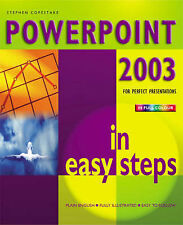 Powerpoint 2003 in Easy Steps by Stephen Copestake (Paperback, 2004)