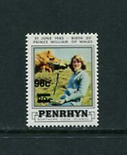 LADY DIANA - Penryhn - 1983 SURCHARGED single- (SC 249)- MNH- C263