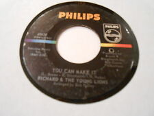 RICHARD & THE YOUNG LIONS  YOU CAN MAKE IT /  VINYL 45 VG PLAYS VG++