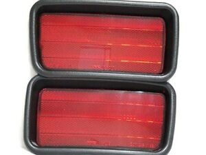 Rear Side Marker Reflector Light Lamps One Pair For 2000-2004 Montero Sport