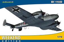 Eduard Messerschmitt Me bf-110d 110 D Noruega 1940 modelo-kit 1:72 nuevo kit