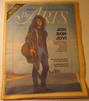 Jon Bon Jovi - Madonna - 2 page Chicago Tribune 1989 Articles - Wizard of Oz
