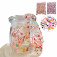 Fruit Slices Soft Scented Stress Relief Toy DIY Sludge Toys For Slime