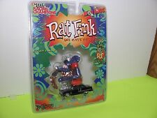 RAT FINK ED BIG DADDY ROTH BLACK '55 CHEVY DIECAST WITH RAT FINK FIGURE NIP RARE
