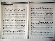 """COUPURE DE PRESSE-CLIPPING : MARK KNOPFLER [10pages] 2003 Partition """"Why Aye Man"""