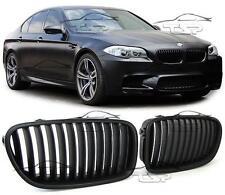 FRONT GRILLS BLACK MATT FOR BMW F10 F11 from 2010 SERIES 5 SPOILER BODY KIT NEW