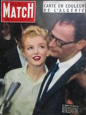 "Marilyn MONROE - ""Paris Match"" 378/1956 (F) - MONROE-COVER-magazine 1956"