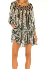 Free People Dance Magic Tunic Top size:XS color:Black Combo OB1017742 NEW w/tag