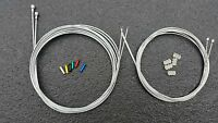 Road Racing Bike Gear & Brake inner Wire Cable set fit shimano 105 tiagra #20