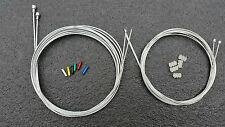 Complete set Brake Gear Front Rear inner bike cables Road Derailleur shift Cable