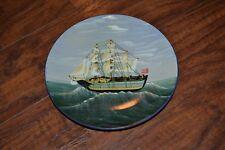 "G11- MayRich Co. Ship Decorative Plate 8"""