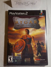 PS2 Rygar. Sony PlayStation 2. Brand NEW Factory Sealed Game. MINT. RARE. HTF.