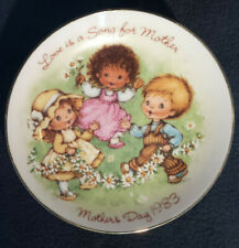 Vintage 1983 Avon Japan Love Is A Song For Mother Mothers Day Plate