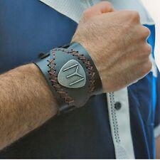 IYI Kayi Alp IYI Wristband Bracelet Real Leather Ertugrul Ottoman Dirilis Osman