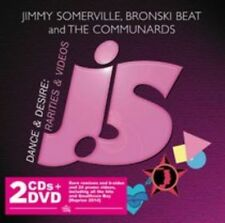 Jimmy Bronski Beat and The Communards Somerville - Dance Desire 2 CD DVD