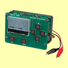 Digital LCD Oscilloscope Electronic Kit DIY Educational Velleman EDU08