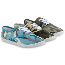 Damen Sneakers Prints Sportschuhe Camouflage Stoffschuhe 814933 Hot