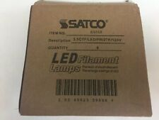 SATCO 3.5CTF/LED/FR/27K/120V DECORATIVE. SATCO NEW. S9868 6 Pack.