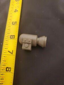 Fisher-Price Construx LEFT JET POD ENGINE (Silver) Vtg 1983-1988 part weapon