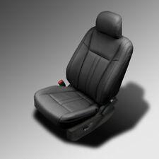Brand New Black Katzkin Leather Kit 2015-2017 Ford F-150 XLT CREW CAB