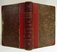 Antique 1860 SALMON FISHING IN CANADA Angling ALEXANDER Leather Sporting Book
