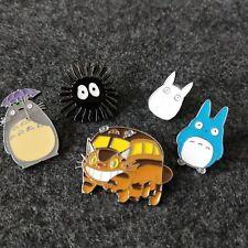 Doll Enamel Badge Japanese Anime Pins Lovely My Neighbor Totoro Brooch Cartoon