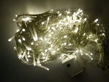 192 minilucciole LED bianco caldo con giochi cavo trasparente Giocoplast