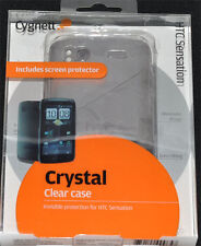 Cygnett Crystal Clear Case for HTC Sensation  includes screen protector