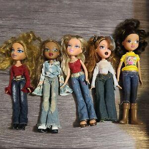 Bratz Dolls Lot Of 5