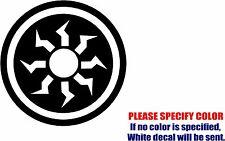 "Vinyl Decal Sticker - MTG Mana Symbols Car Truck Bumper Window Laptop JDM Fun 9"""