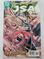 JSA #63 (2004) DC COMICS JUSTICE SOCIETY OF AMERICA SIGNED ETHAN VAN SCIVER! COA