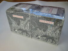 1988 Edward Gorey Mystery NOTECUBE Lot of 2 sealed PBS book old TV show vintage