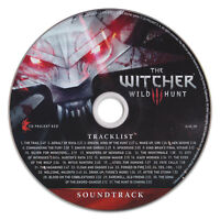 THE WITCHER III: WILD HUNT Official Soundtrack CD [Stand-Alone] 31 Tracks NEW!
