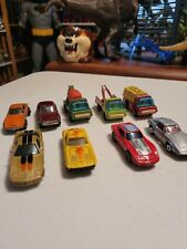 Vintage Lot of 9 Playart & Other Toy Cars & Trucks - Used
