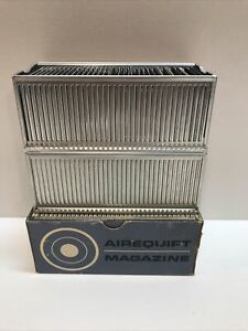 3 Airequipt Magazine Automatic Slide Changers for 2x2 35MM Slides Vintage Lot