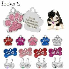 Anti-lost Custom Dog ID Personalized Tag Engraved Pet Dog Collar Accessories