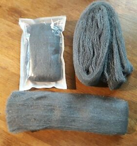 Steel Wire Wool Liberon  VARIOUS Grades + lengths available TOP QUALITY