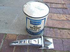 Vintage Sears Motor Oil Brand New Old Stock & NOS bonus Eagle brand oil spout