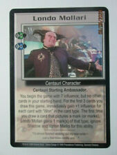 1999 Babylon 5 Ccg - Severed Dreams - Rare Card - Londo Mollari ( Gambler )