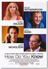HOW DO YOU KNOW - 2010 - Original 27x40 movie poster - REESE WITHERSPOON, P.RUDD