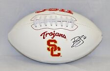 Brian Cushing Autographed USC Trojans Logo Football- JSA W Authenticated
