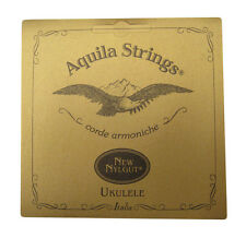 Aquila Ukulele Strings - 24U - Nylgut - Baritone 6 String Ukulele Set - Low D